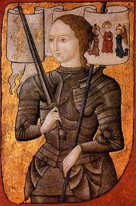 http://en.wikipedia.org/wiki/File:Joan_of_arc_miniature_graded.jpg#file