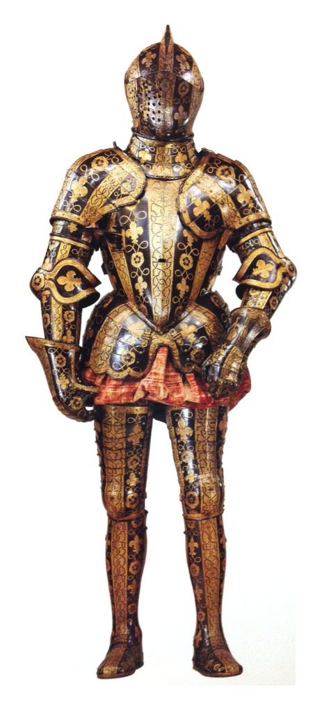 Ornate armor