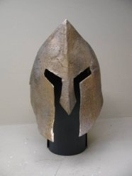 http://www.stormthecastle.com/how-to-make-a/spartan-helmet.htm