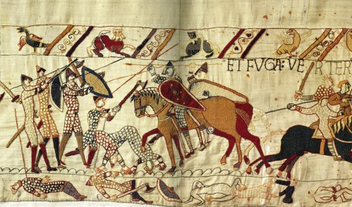 Panel 72 from Bayeux Tapestry