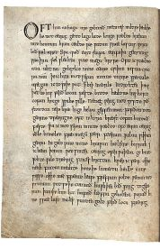 385px-Wanderer-Exeter-Book-first-page-Bernard-Muir
